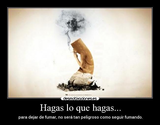 Que cambios positivos pasarán si dejar fumar