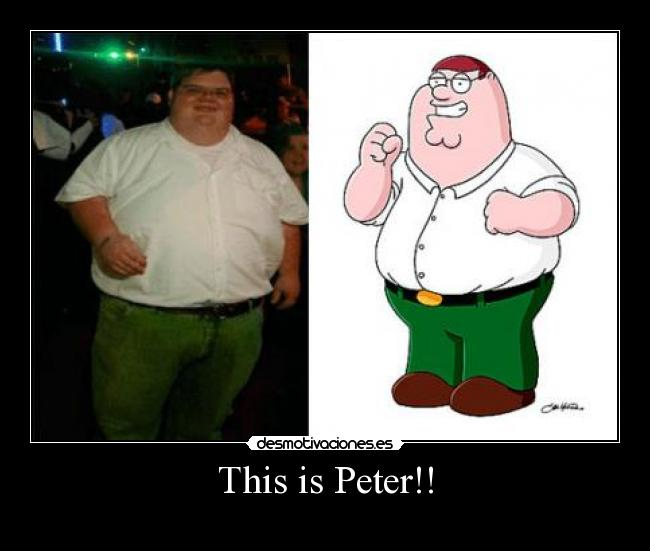 This is Peter!! -