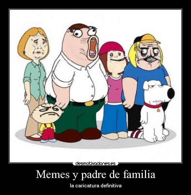 Padre de familia meet the quagmires family guy