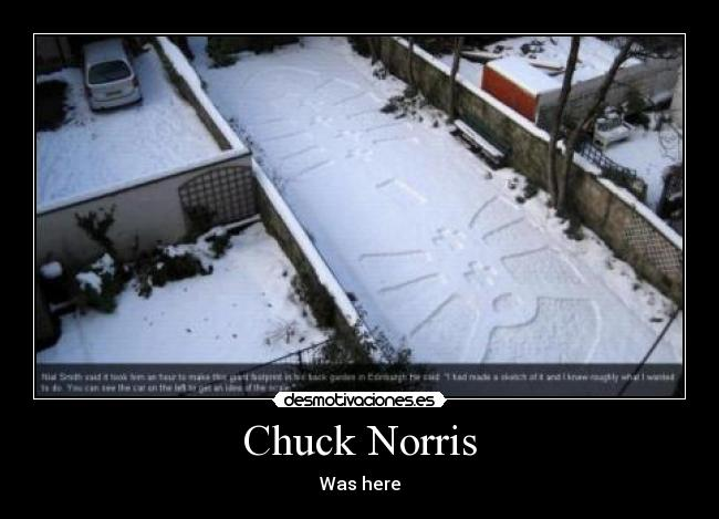 Chuck Norris - Was here