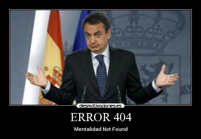 ERROR 404 - Mentalidad Not Found