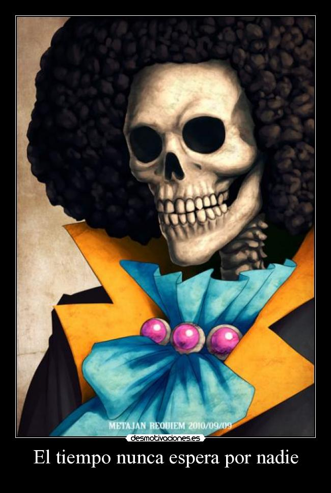carteles brook one piece desmotivaciones