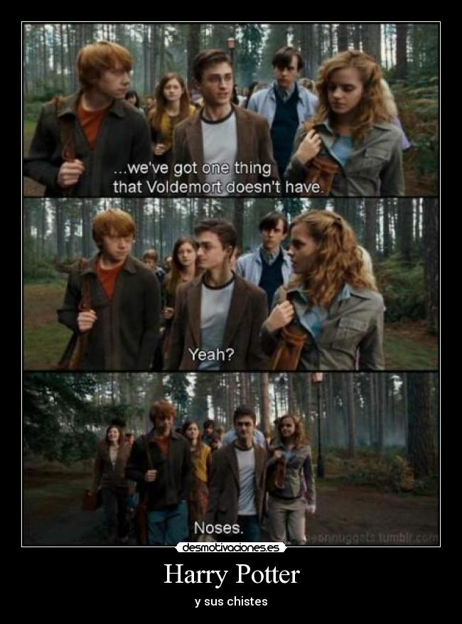 Harry Potter - y sus chistes