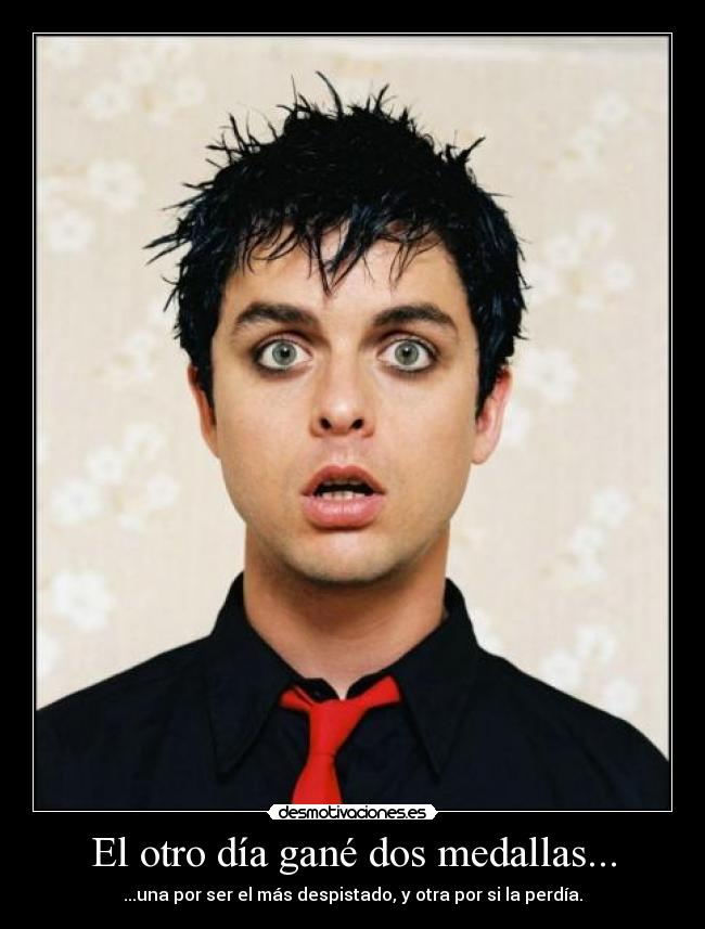 carteles green day billie joe armstrong despiste desmotivaciones