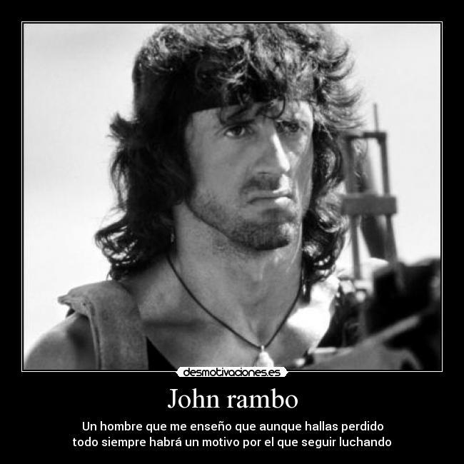 Rambo para los nipios es aspirado