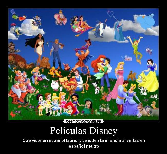 disney latino peliculas: