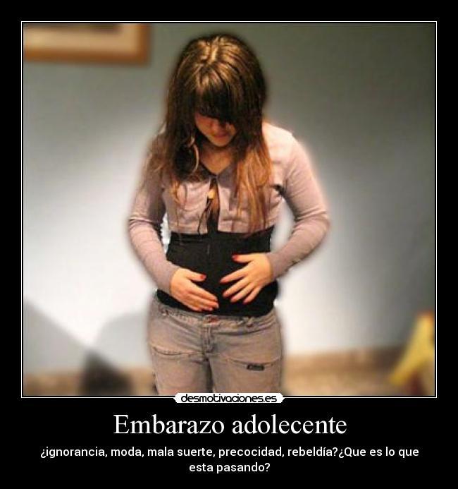 mujeres embarazadas en la adolescencia: