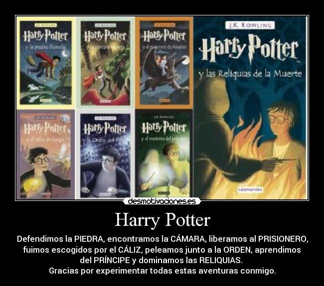 Harry Potter Desmotivaciones