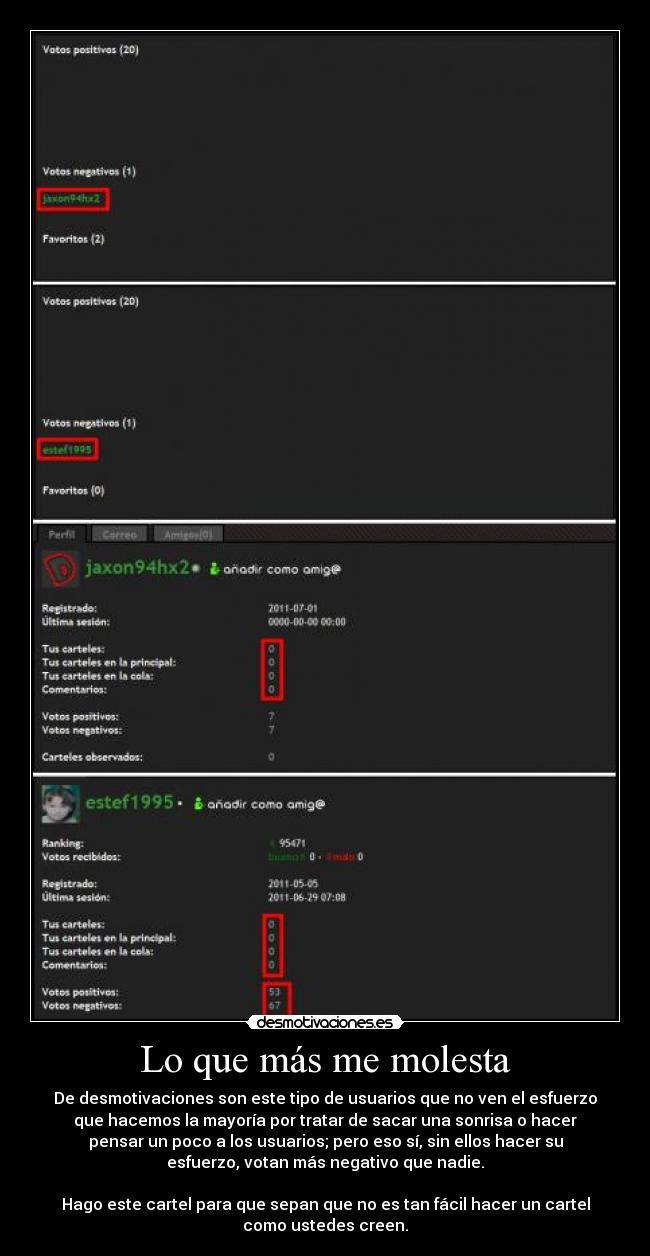 carteles que mas molesta desmotivaciones usuario verde rojo trol troll negativo cartel joker face desmotivaciones
