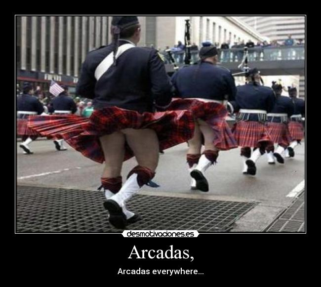 Arcadas, - Arcadas everywhere...