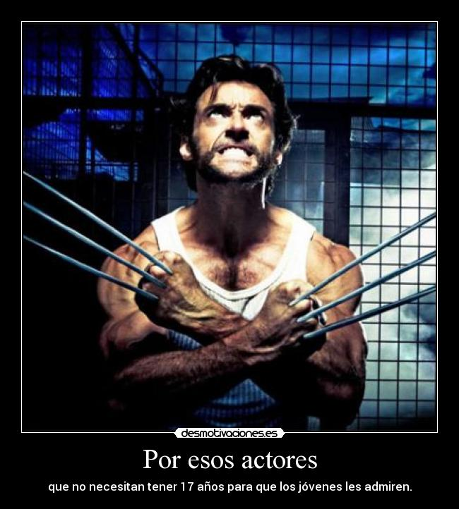 Desmotivaciones! Actores de Hollywood!