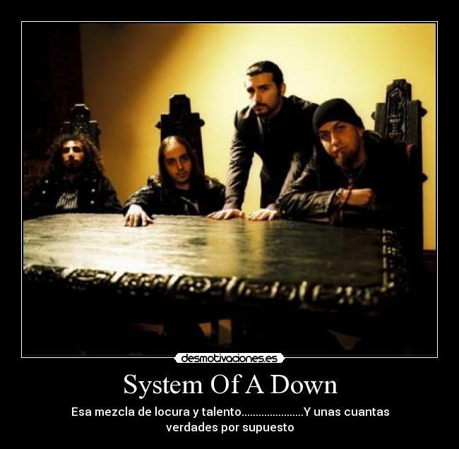 System Of A Down Desmotivaciones