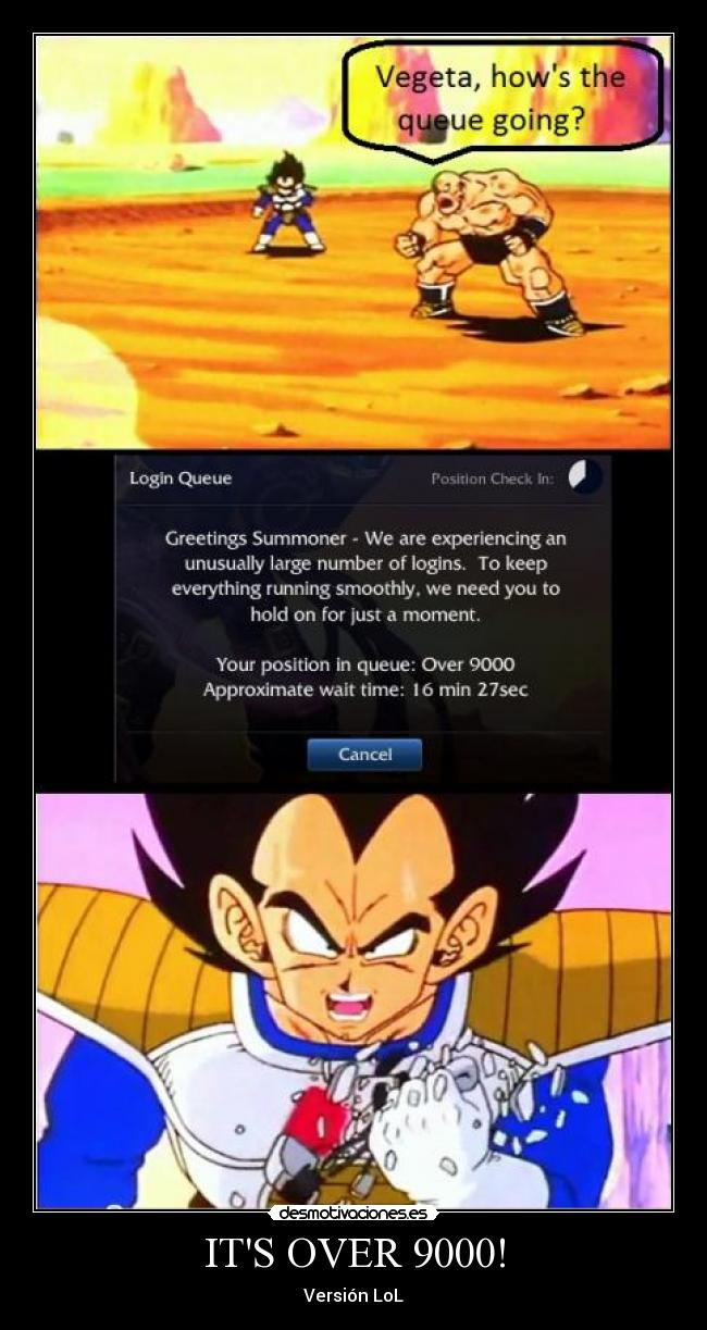 ITS OVER 9000! - Versión LoL