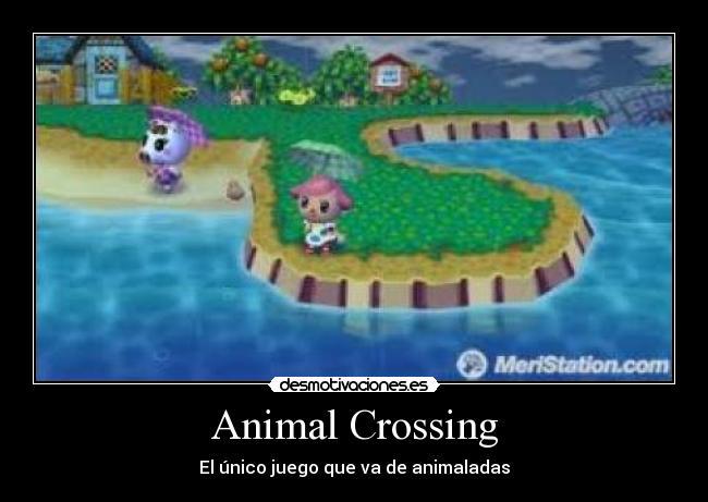 Animal Crossing - El único juego que va de animaladas