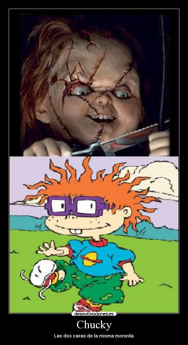 Anime additionally Charles Lee Ray Chucky in addition Carteles Amigos ...