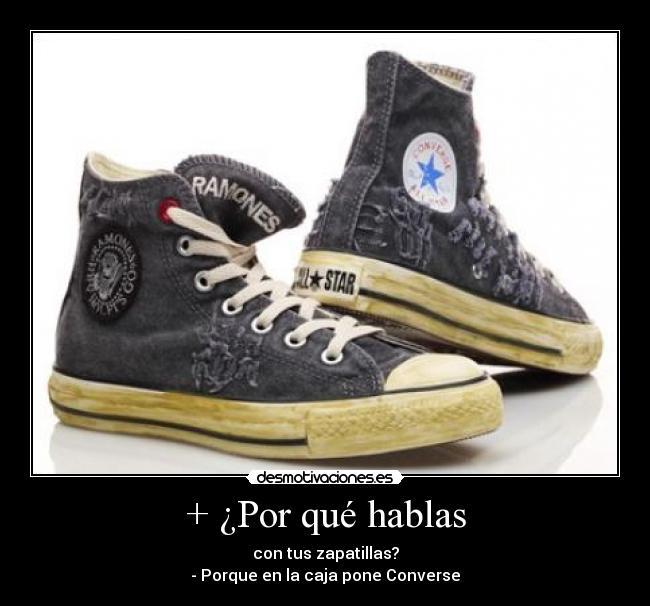 Porque hablas con tus zapatos? | Desmotivaciones