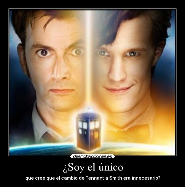 carteles tennant smith matt david doctor who tardis bbc desmotivaciones