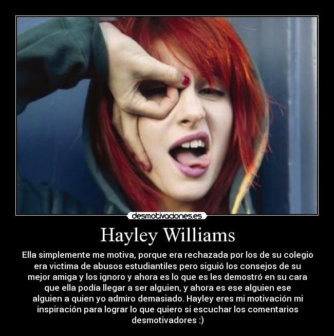 Hayley Williams Desmotivaciones Es Hayley Williams Desmotivaciones Es