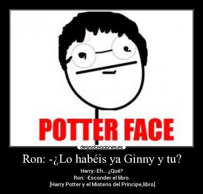 El potter del dios del sexo de Ginny