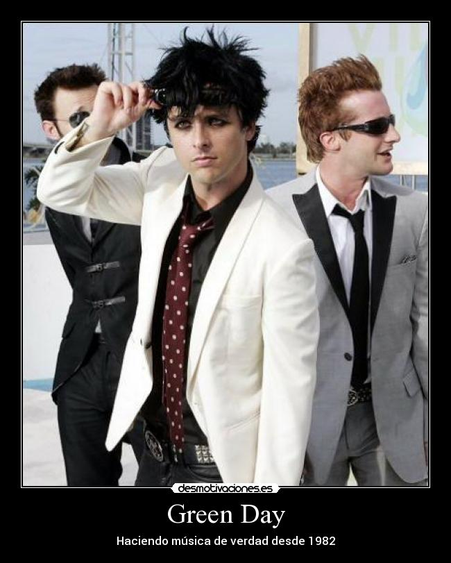 carteles green day musica rock rock and roll desmotivaciones