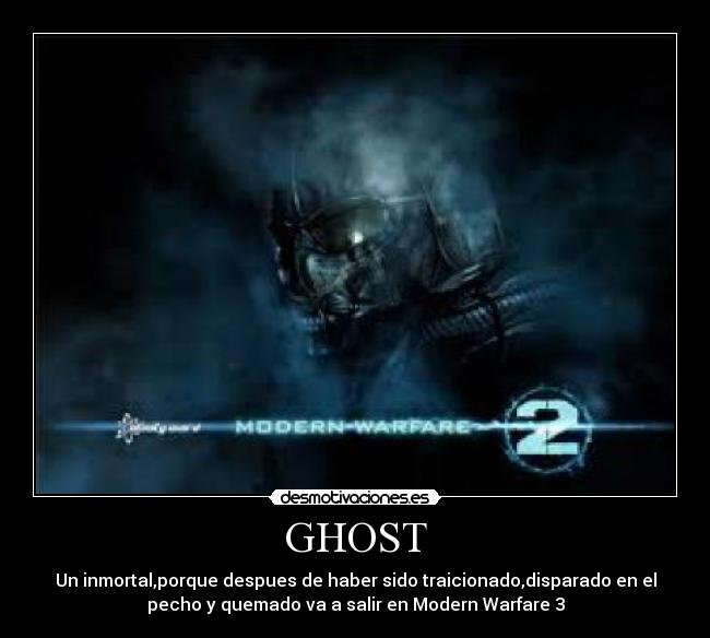Ghost Desmotivaciones
