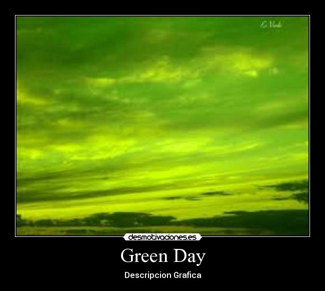 Green Day - Descripcion Grafica