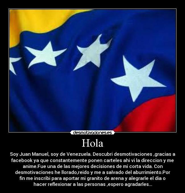 Imgenes y Carteles de VENEZUELA  Desmotivaciones