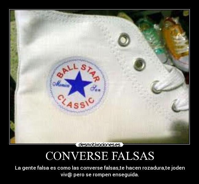 converse falsas