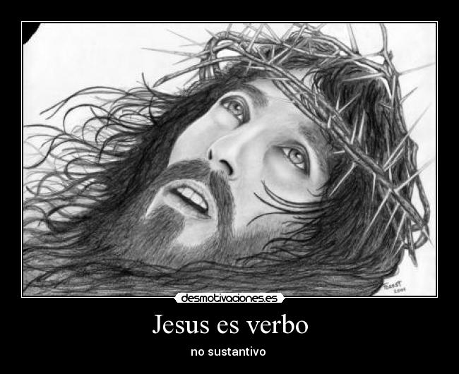 Jesus verbo no sustantivo lyrics