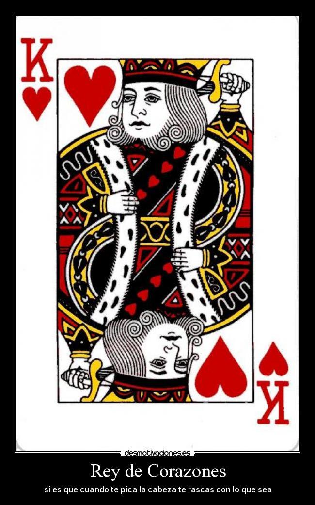 tener corazones en el poker