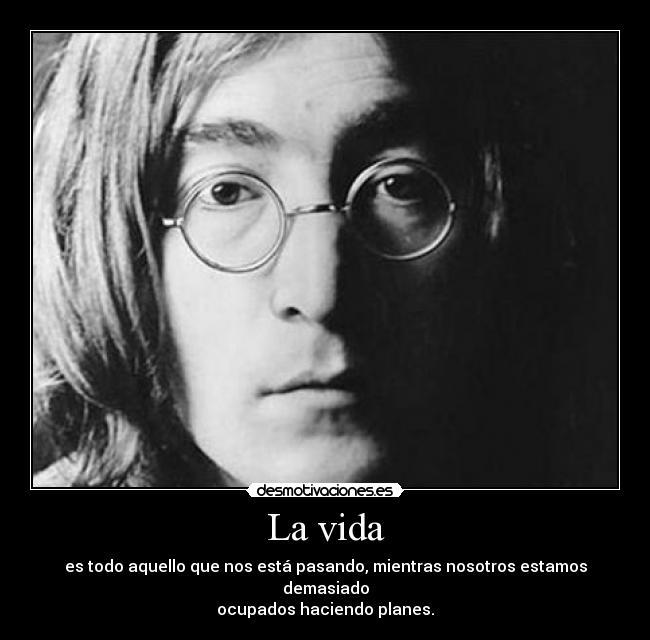 El Blog De María Frases Por La Paz John Lennon