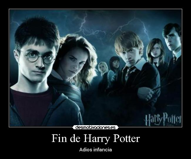 Fin de Harry Potter - Adios infancia