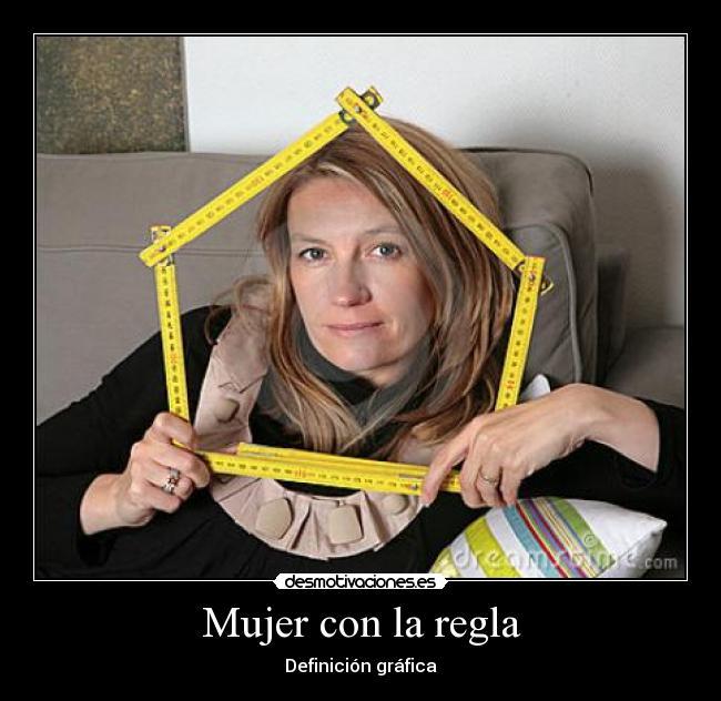 mujer regla: