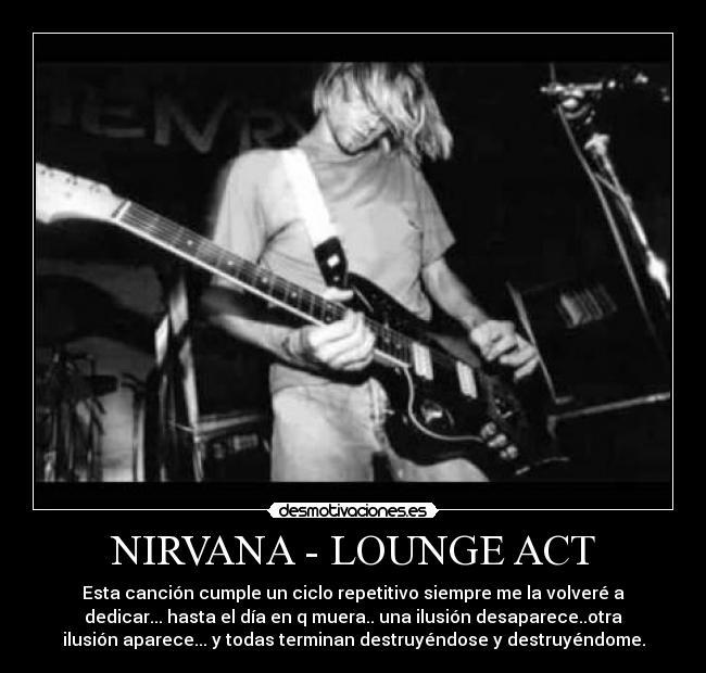 canciones de nirvana en castellano: