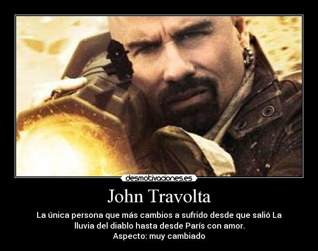 John Travolta Desmotivaciones