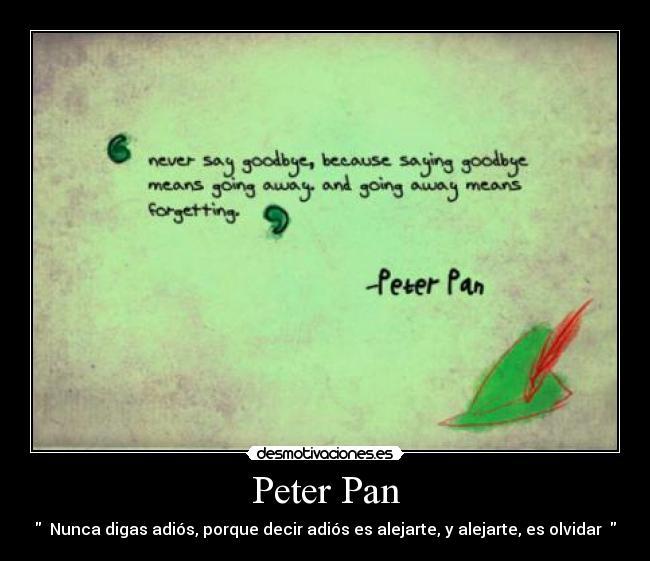 Frase Como Peter Pan Imagui
