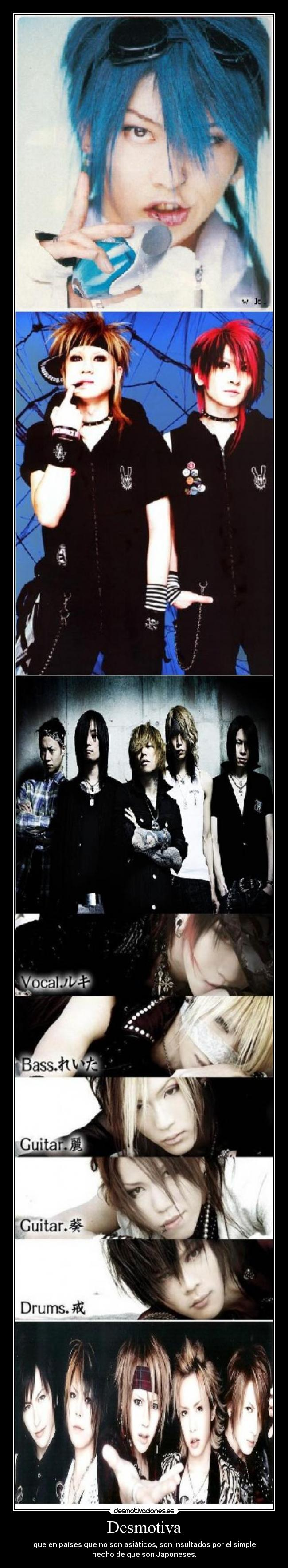 carteles cafe the gazette alice nine miyavi lmc dir grey desmotivaciones