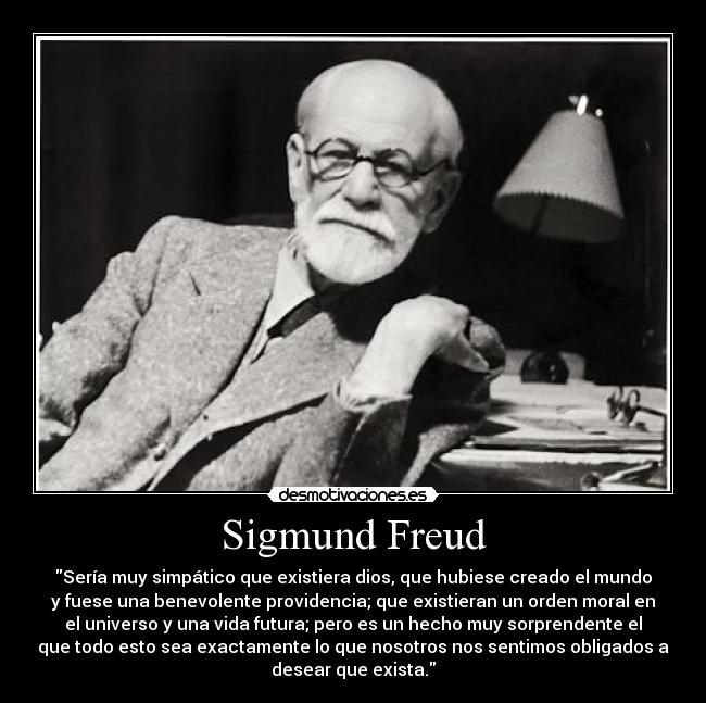 Sigmund Freud Desmotivaciones