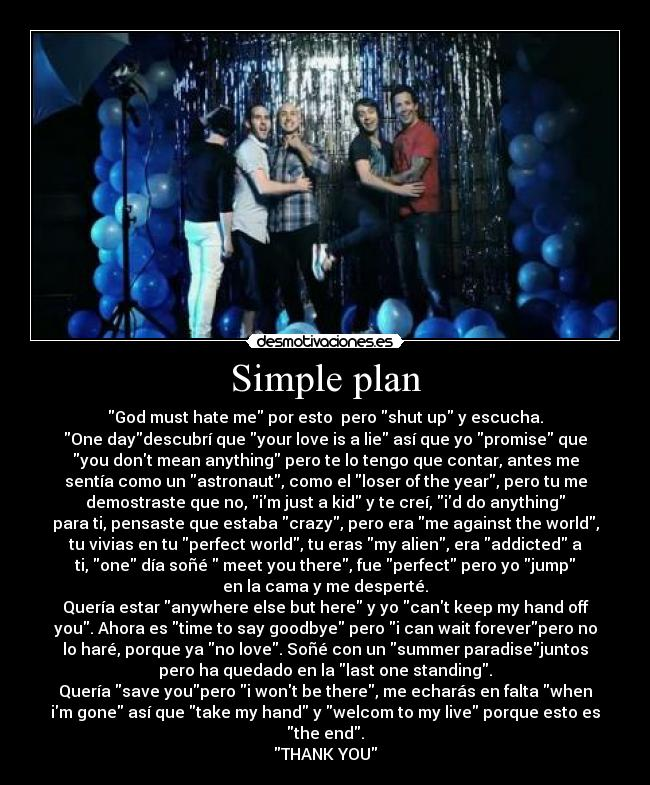 simple plan shut up