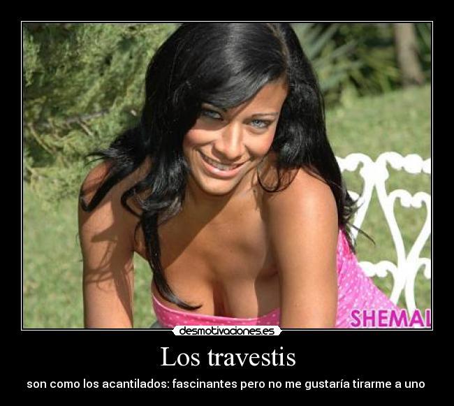 travesti1 im�genes y carteles de travestis desmotivaciones,Meme Travesti