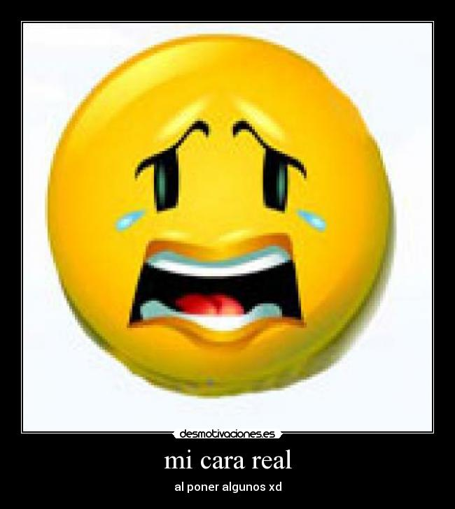Carita llorando - Imagui