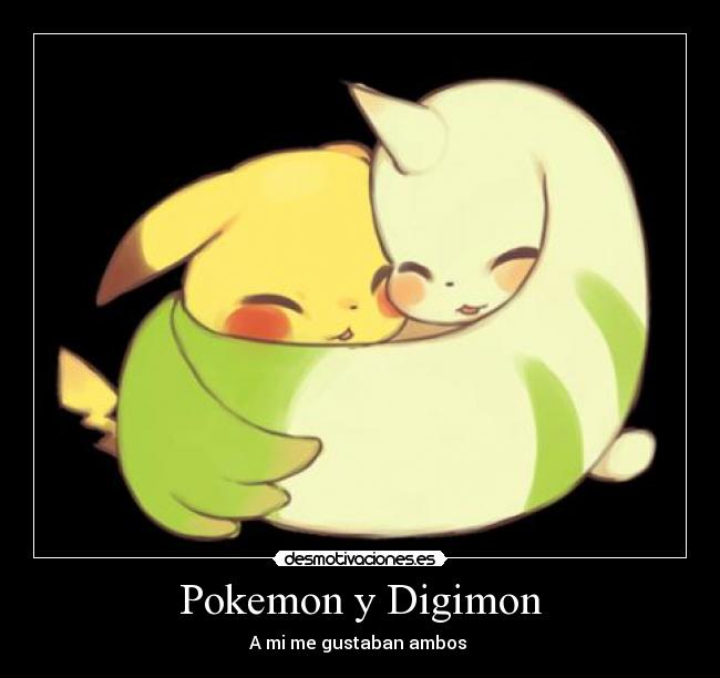 carteles pokemon pokemon digimon desmotivaciones