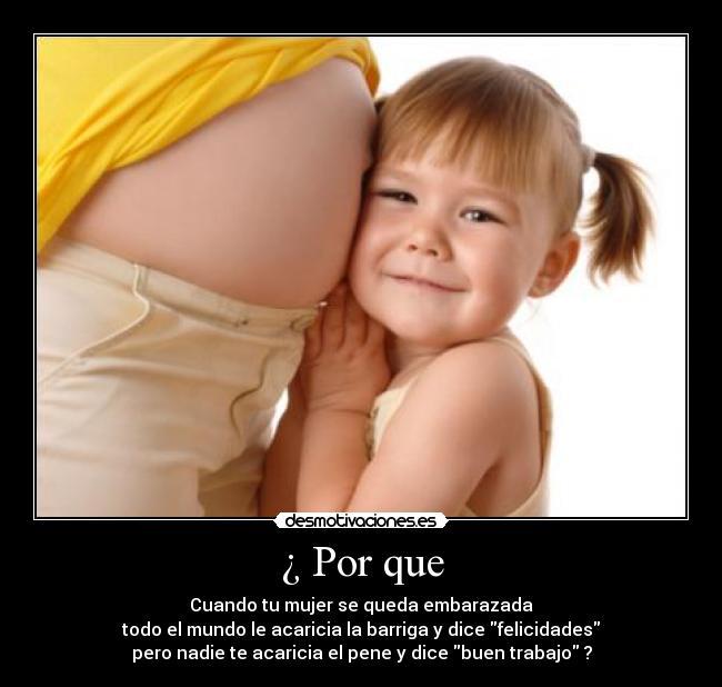 carteles embarazada desmotivaciones