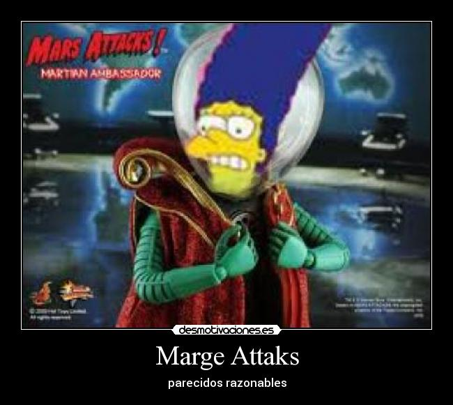 carteles mars attacks simpson desmotivaciones