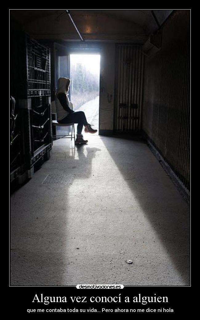 carteles soledad persona experiencia tristeza desmotivaciones