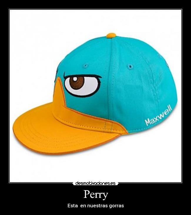 Gorras de Perry el ornitorrinco - Imagui