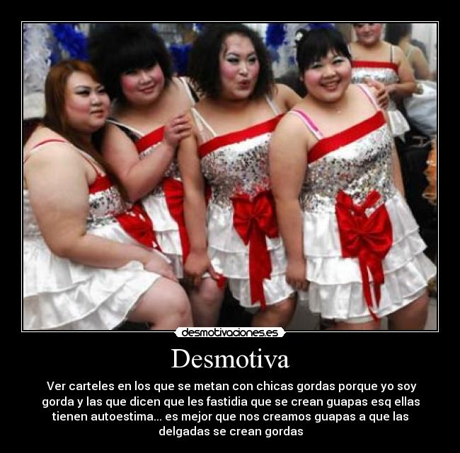 chicas gordas: