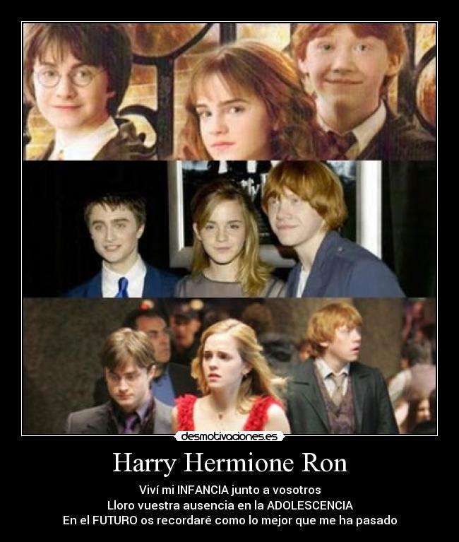 ron y hermione sexo