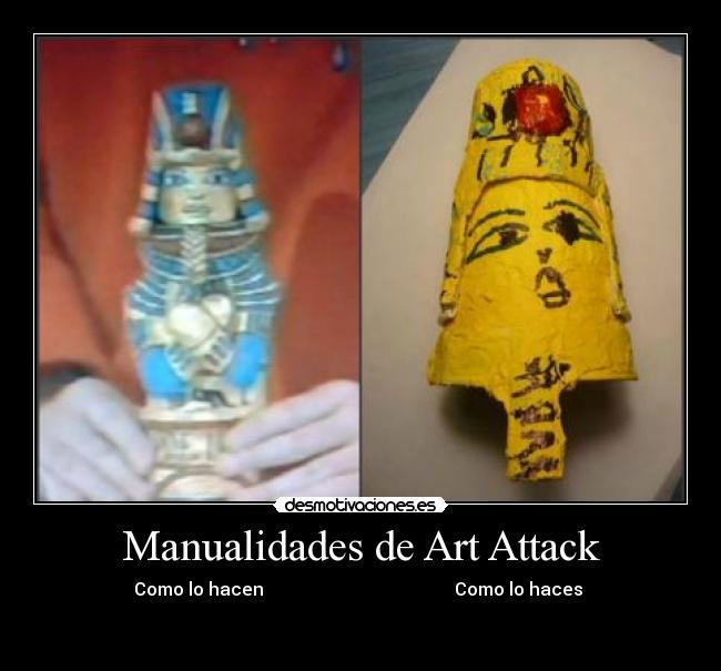 Manualidades de art attack desmotivaciones - Manualidades art attack ...