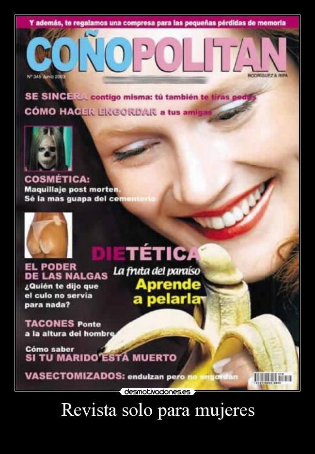 Revista solo para mujeres